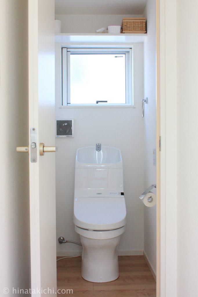 トイレお掃除クリーナーをOXOポップコンテナで保管