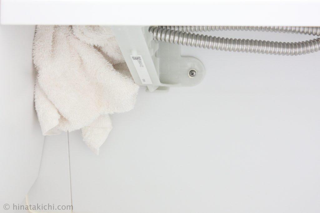 お風呂のカウンター下の掃除