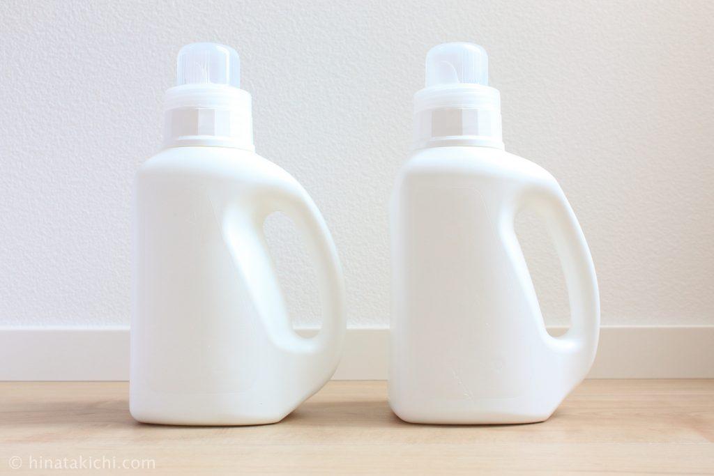 セブンイレブンの洗剤ボトル