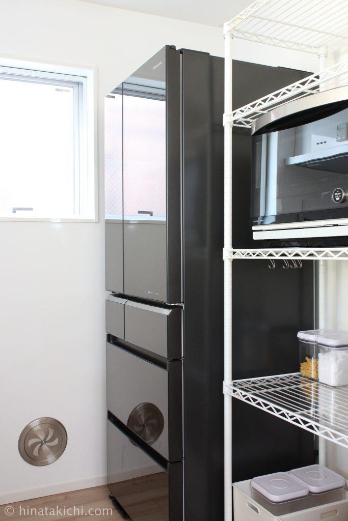 Panasonicの510Lの冷蔵庫「NR-F510XPV」