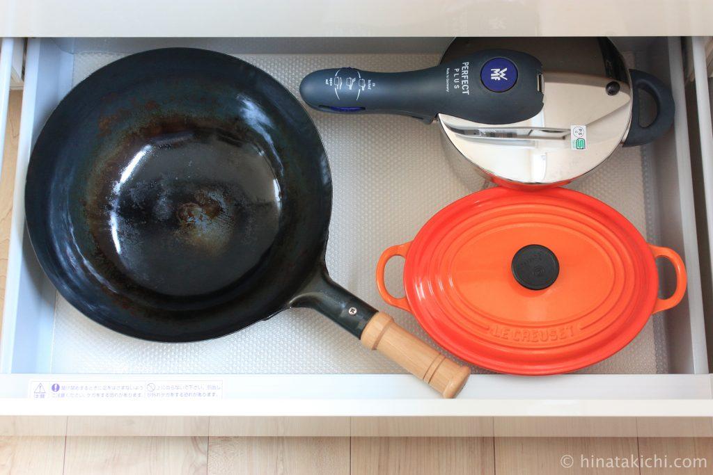 中華鍋のお手入れ方法と保管場所