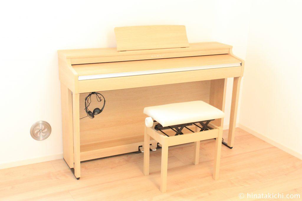 ピアノバザールでカワイ(KAWAI)の電子ピアノCN27購入
