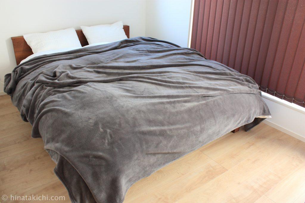 無印のインド綿高密度サテン織ホテル仕様の寝具カバーにそっくりなIKEAの寝具カバーNATTJASMIN